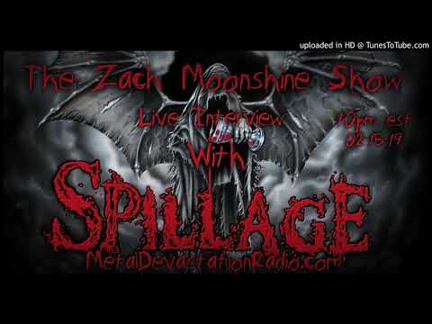 Tony Spillman From Spillage - Interview 2019 - The Zach Moonshine Show