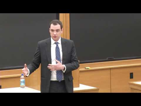 Harvard Journal on Legislation symposium | James Wharton MP