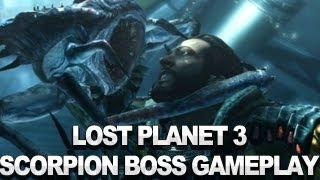 Lost Planet 3 - Scorpion Boss Battle - TGS Gameplay