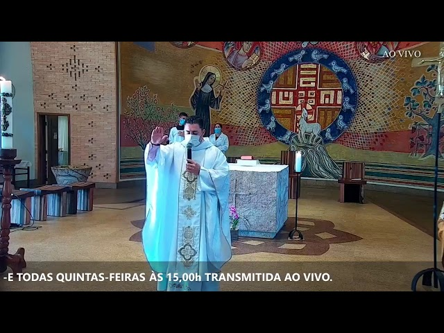 Santa Missa 6° Domingo da Páscoa - 09/05/2021 - Feliz dia das Mães.