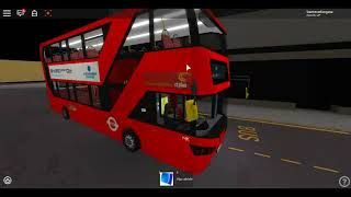 Roblox London Hackney - Limehouse bus Simulator E400HCity CTP DLR Remplacement -ACCIDENT