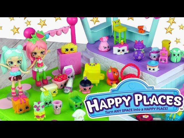 Shopkins Happy Places & Num Noms • Wielkie Urodziny na Basenie !!!! • bajki dla dzieci