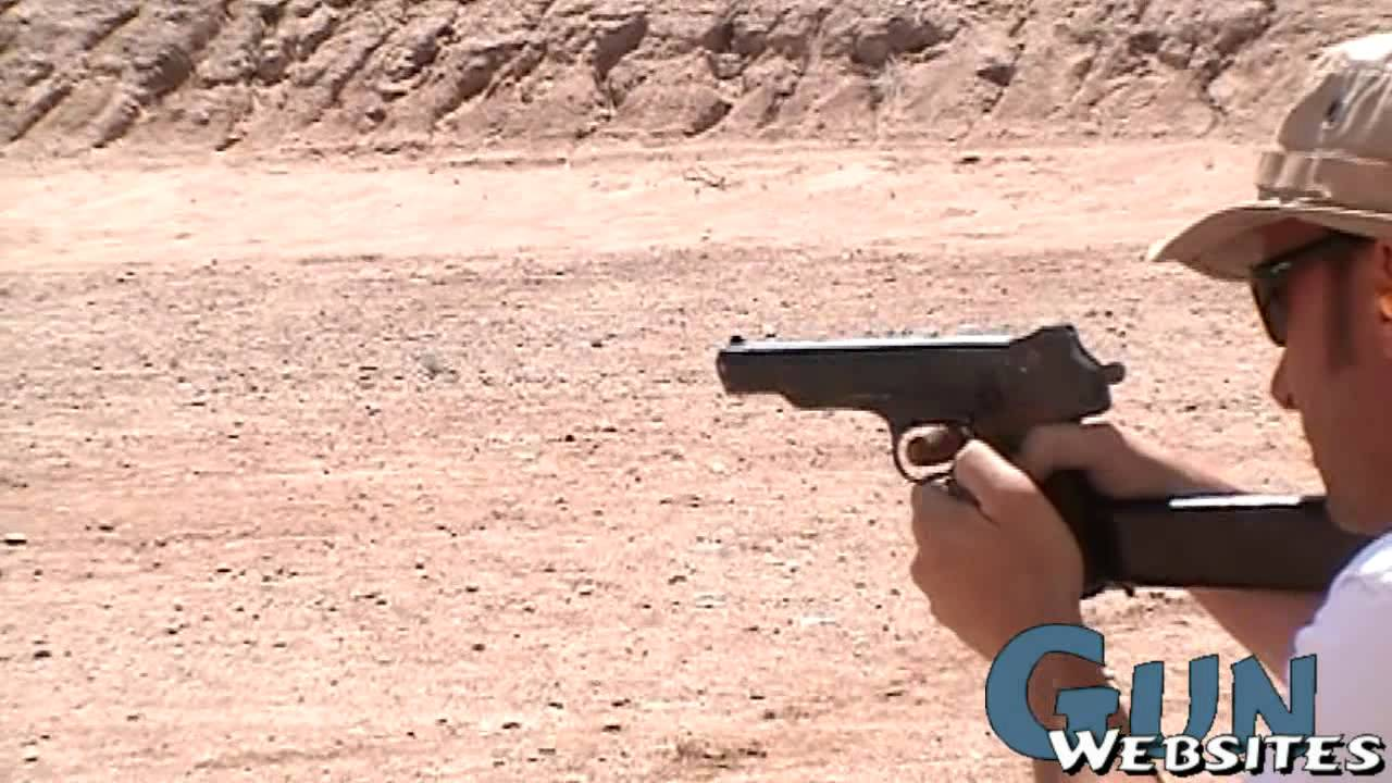 Full Auto Stechkin APS Machine Pistol