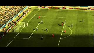 PES 12 - 2nd (Second) DEMO Gameplay PC - Inter Milan VS AC Milan