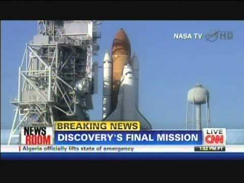 Space Shuttle Discovery Final Mission Launch (February 24 ...
