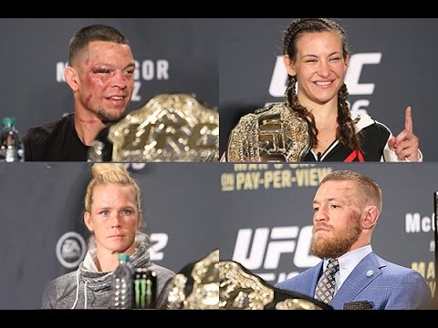 UFC 196: McGregor vs. Diaz Press Conference  (Post-Fight, FULL)