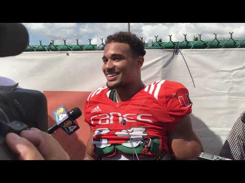 Travis Homer | Post Practice Interview | 10.17.17