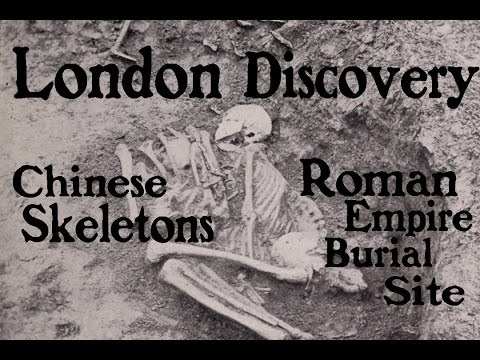 Ancient Chinese Skeletons Discovered in London Cemetery