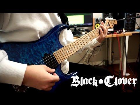 『ブラッククローバー』 (Black Clover) OP Full - ハルカミライ(Haruka Mirai) Guitar Cover