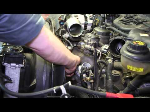 Ford 6.0 Powerstroke Engine Coolant Temperature Sensor Replacement