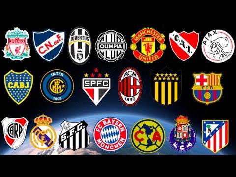 Top 10 Clubes con mas Titulos Internacionales Oficiales