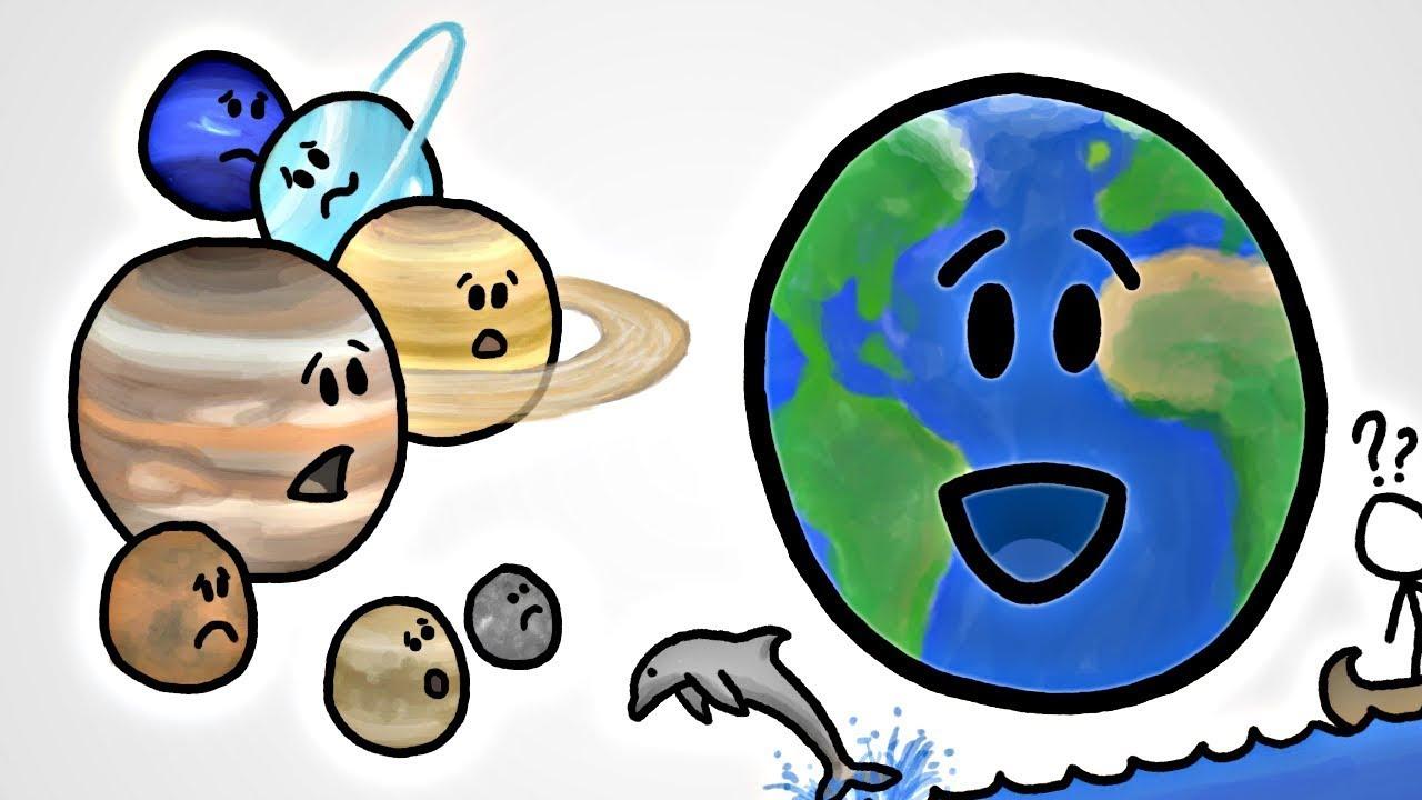Откуда на Земле вода? [Минутка Земли]