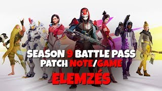 HERE'S THE SEASON 9! | BATTLE PASS ANALYSIS | PATCH NOTE/GAME REACTION! (Fortnite Battle Royale)