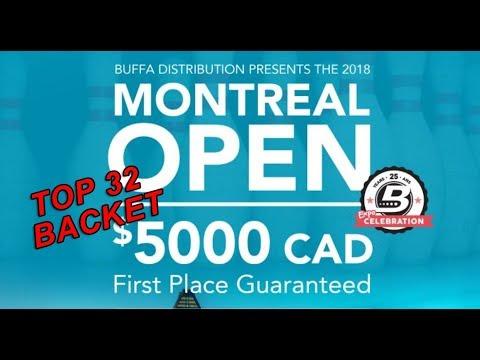 Bracket Top 32 -  Montreal Open 2018
