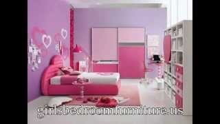 This Video Previously Contained A Copyrighted Audio Track. Due To A Claim By A Copyright Holder, The Audio Track Has Been Muted.     Girls Bedroom Furniture 3