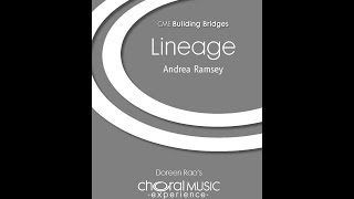 Lineage (SSA Choir) - By Andrea Ramsey