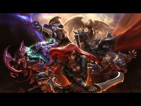 League of Legends - Фидер? Репорт!