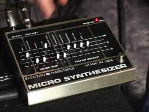 micro synthesizer demo by peter stroud analog guitar synthesizer electro harmonix youtube. Black Bedroom Furniture Sets. Home Design Ideas
