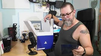 PS4 VR paketti unboxing