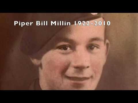 A Tribute To Gallant Masculinity:  Bill Millin And Commando Kieffer At Sword Beach, 6 June 1944.