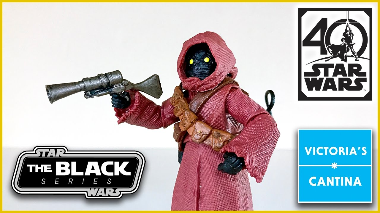 Star Wars The Black Series 40th Anniversary Jawa 6 inch Action Figure