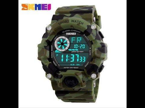 Часы Skmei 1019 (настройка)