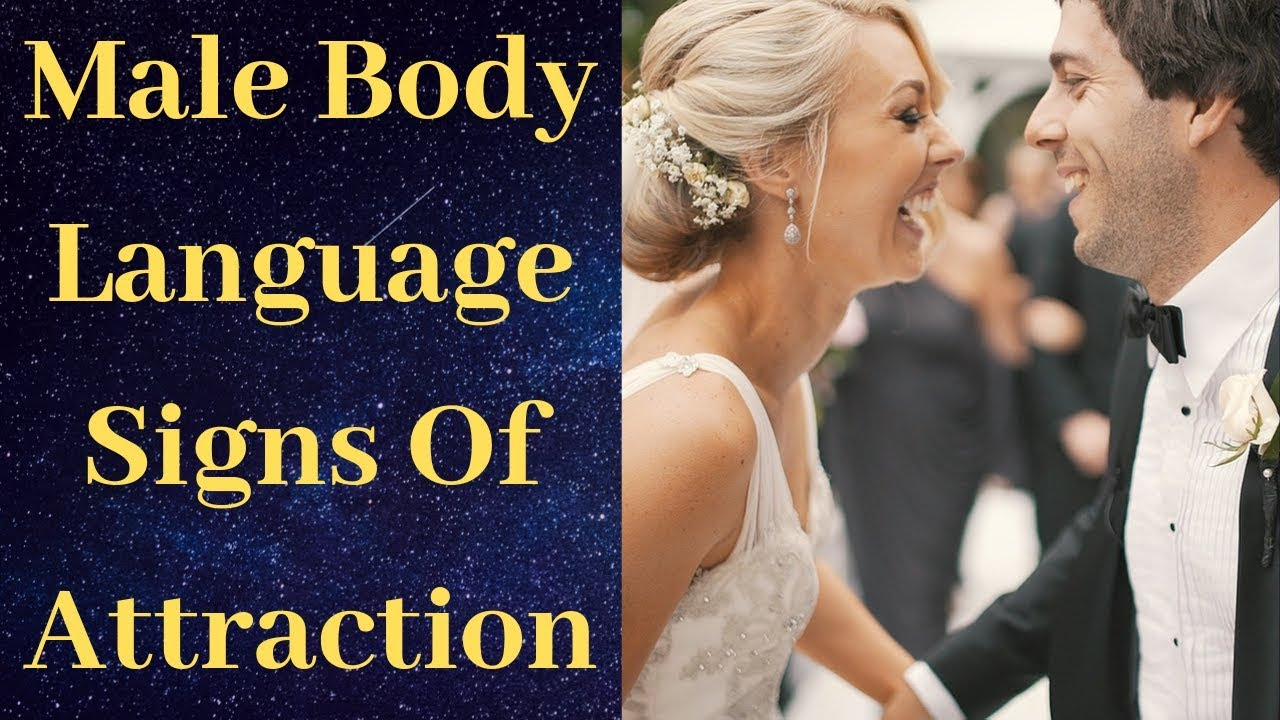 Is man when body language a attracted a to woman Female Body