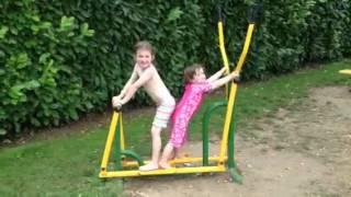 Lydia & Martha workout video