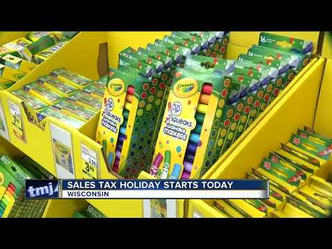 Gov. Walker On Wisconsin's First Ever Sales Tax Holiday