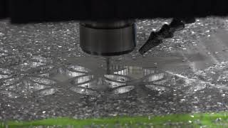 """1/4"""" Aluminum plate machining with the Onsrud C-Series CNC Router"""