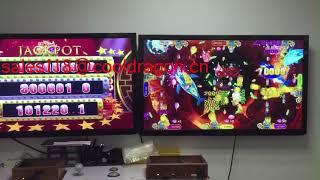 IGS yuehua software fishing hunter game machine with the jackpot