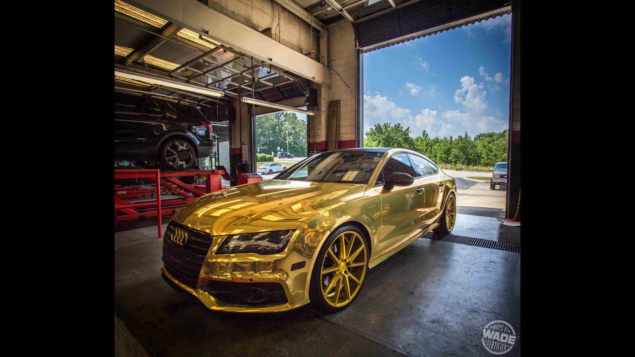 Butler Tire Dennis Schröders GOLD Audi A On Wheels YouTube - Audi car tires