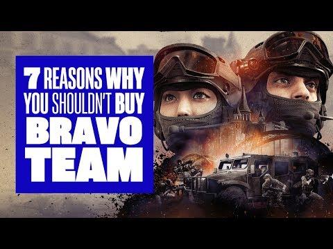 7 Reasons You Shouldn't Buy Bravo Team - Bravo Team PSVR Gameplay
