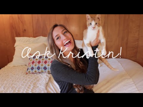 My First YouTube Video | Ask Kristin