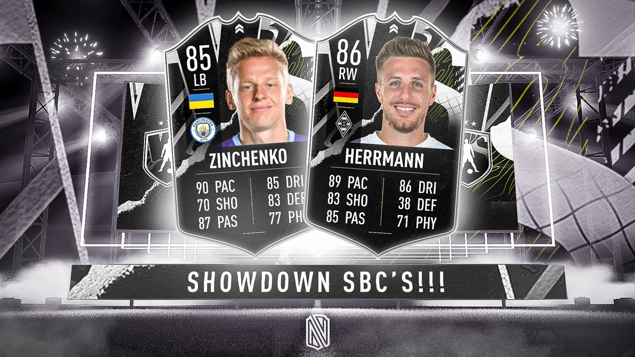 NEW SHOWDOWN SBC! ZINCHENKO Vs HERRMANN - FIFA 21 Ultimate Team - YouTube