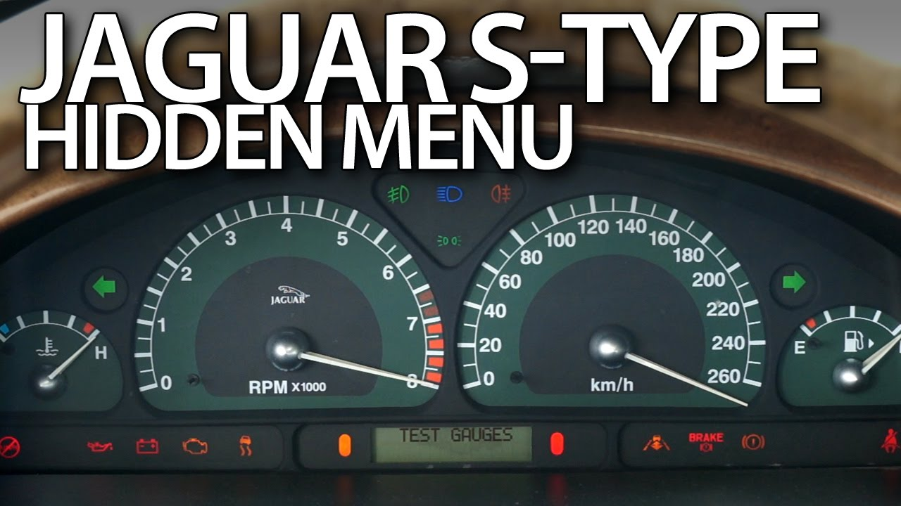 jaguar x type can bus wiring diagram bmw mini r50 s hidden menu instrument cluster test mode youtube