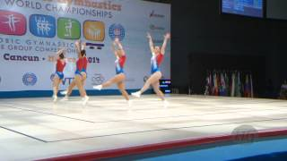 GREAT BRITAIN Group  -- 2014 Aerobic Worlds, Cancun (MEX), Qualifications -- We are Gymnastics !