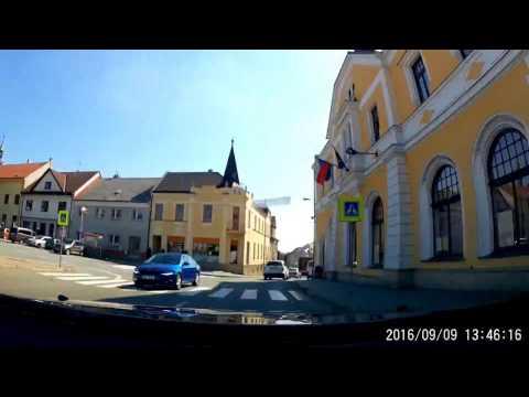 Time lapse 12x: Driving Brno - Zlin (Czech Republic) 145km