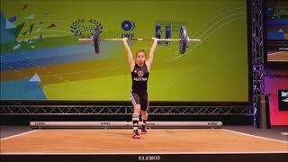 Girls 44kg Group A - 2018 European U15 Weightlifting Championships