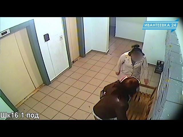 Видео с камер наблюдения. Украли лавочку на Школьной 16