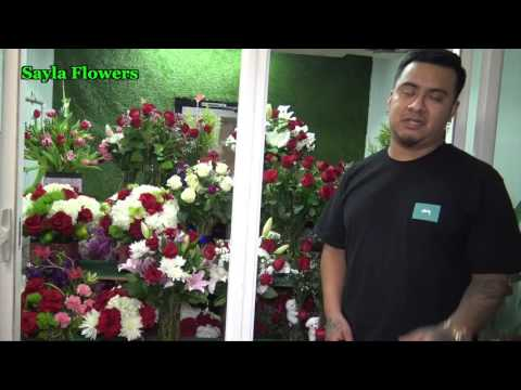 Best Flower Shop in Los Angeles - Sayla Flowers