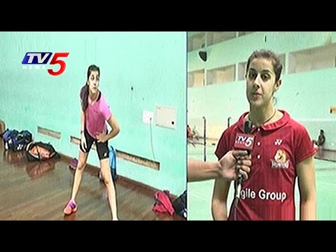 Carolina Marin Exclusive Interview | PBL 2016 | Hyderabad | TV5 News