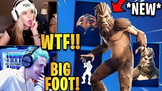Streamers React to *NEW* Bigfoot Skin & Savor the W Emote! | Fortnite Highlights & Funny Moments
