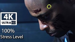 How An Android Reacts Reaching 100% Stress Level (Interrogation Scene) Detroit Become Human PS4 Pro