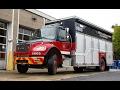 NEW   Montréal Fire Department (SIM) - Quick Walkaround of Brand-New Air Supply Unit 1605