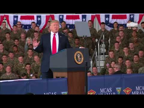Trump Speaks At Miramar | San Diego Union-Tribune