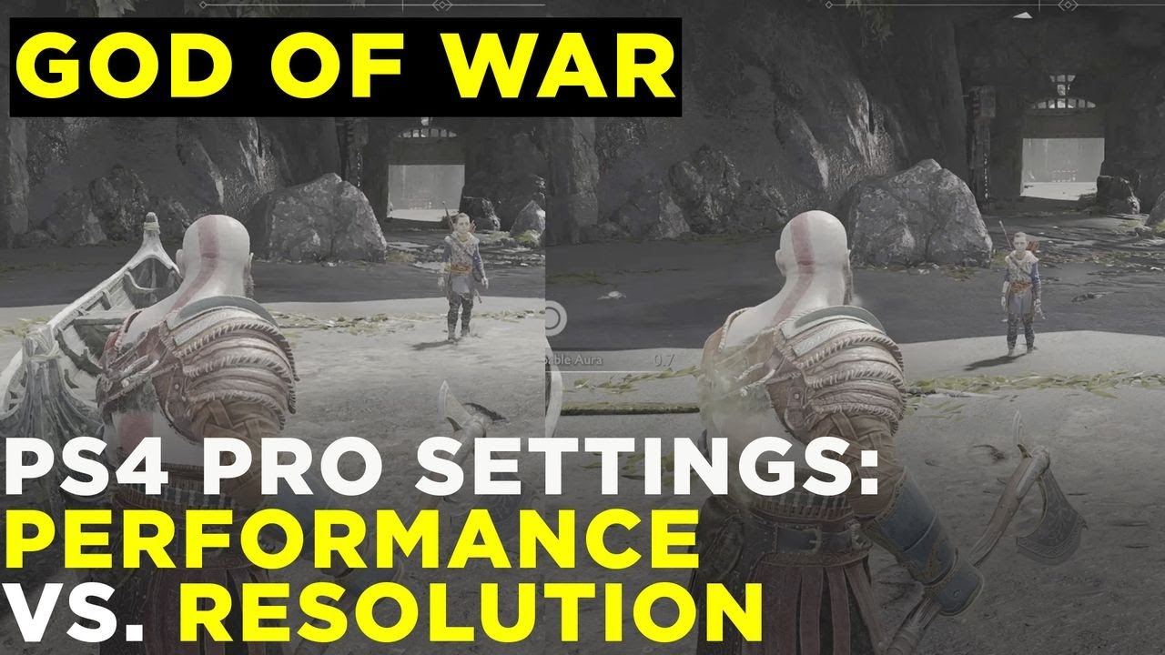 God of War PS4 Pro comparison: 4K mode disappoints - Polygon