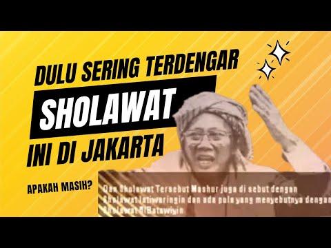 DAHULU SUARA INI SERING TERDENGAR SEBELUM SHOLAT MAGRIB DI JAKARTA SEKITARNYA