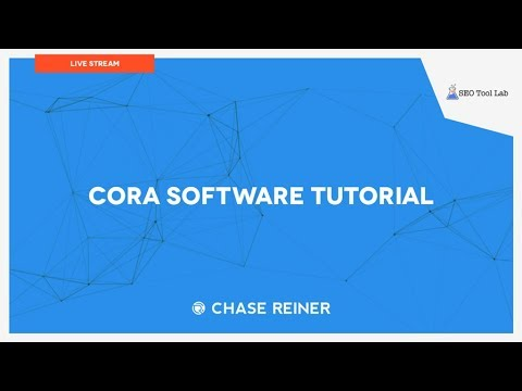 Cora Software Tutorial With Free Discount Code