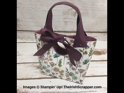 Stampin' Up! Bag in a Box Episode 258